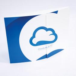 4-seitiger Folder DE